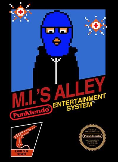 Punktendo-Masked-Intruder-Alley
